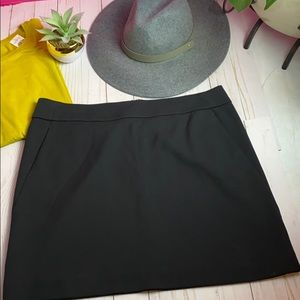 LOFT Skirts - New LOFT SKIRT FOR FALL! Black SZ 12